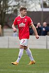 © Joel Goodman - 07973 332324 . 25/04/2015 . Salford , UK . Jordan Hulme . Evostick League champions , Salford FC , play Osset Town , in Salford . Photo credit : Joel Goodman