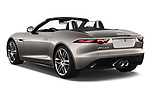 Car pictures of rear three quarter view of a 2018 Jaguar F-Type R Dynamic 2 Door Convertible angular rear