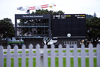 210630 Cricket - Basin Reserve WTC Final Scoreboard