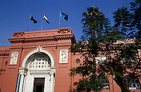 Entrance to Egyptian Museum, Cairo, Egypt.
