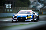 KCMG, #51 Audi R8 LMS GT3, driven by Go Max, Toru Tanaka and Tetsuya Tanaka in action during the Free Practice 2 of the 2016-2017 Asian Le Mans Series Round 1 at Zhuhai Circuit on 29 October 2016, Zhuhai, China.  Photo by Marcio Machado / Power Sport Images