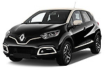 Front three quarter view of a 2013 Renault Captur Intens SUV