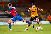 30th October 2020; Molineux Stadium, Wolverhampton, West Midlands, England; English Premier League Football, Wolverhampton Wanderers versus Crystal Palace; Raúl Jiménez of Wolverhampton Wanderers goes past Scott Dann of Crystal Palace