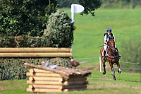 4th September 2021; Bicton Park, East Budleigh Salterton, Budleigh Salterton, United Kingdom: Bicton CCI 5* Equestrian Event; Pippa Funnell riding Billy Walk On