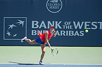 Palo Alto, CA - Saturday, August 5, 2017: Coco Vandeweghe defeated Cici Bellis in straight sets 6-3 6-1 to reach the final at the Bank of the West Classic 2017 at the Taube Family Tennis Stadium on the Stanford University campus.