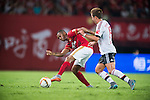 Player in action during the Bayern Munich vs Guangzhou Evergrande as part of the Bayern Munich Asian Tour 2015  at the Tianhe Sport Centre on 23 July 2015 in Guangzhou, China. Photo by Aitor Alcalde / Power Sport Images
