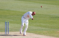 Daniel Bell-Drummond bowls for Kent during Kent CCC vs Northamptonshire CCC, LV Insurance County Championship Group 3 Cricket at The Spitfire Ground on 3rd June 2021