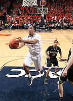 20120208 Wake Forest Basketball Vs Virginia ACC NCAA