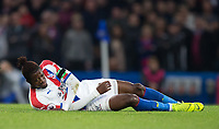 Wilfried Zaha of Crystal Palace during the Premier League match between Chelsea and Crystal Palace at Stamford Bridge, London, England on 4 November 2018. Photo by Andy Rowland.<br /> .<br /> (Photograph May Only Be Used For Newspaper And/Or Magazine Editorial Purposes. www.football-dataco.com)