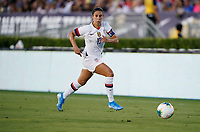 PASADENA, CALIFORNIA - August 03: Carli Loyd #10 during their international friendly and the USWNT Victory Tour match between Ireland and the United States at the Rose Bowl on August 03, 2019 in Pasadena, CA.