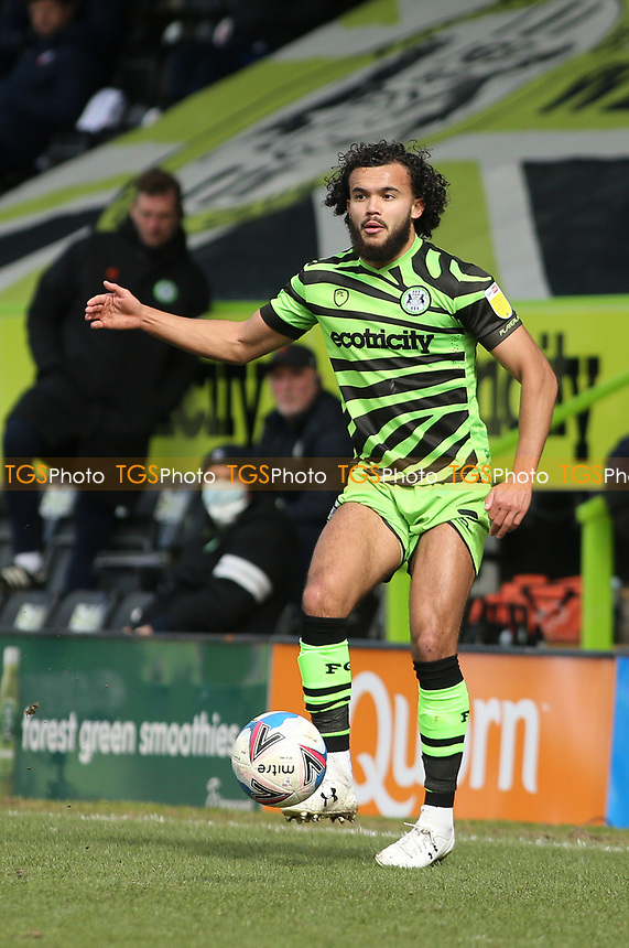 Forest Green Rovers's Dominic Bernard during Forest Green Rovers vs Bolton Wanderers, Sky Bet EFL League 2 Football at The New Lawn on 27th March 2021