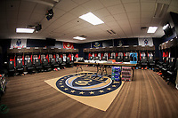 Chester, PA - Monday May 28, 2018: USMNT locker room during an international friendly match between the men's national teams of the United States (USA) and Bolivia (BOL) at Talen Energy Stadium.