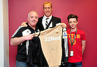 Swansea city fc sponsor awards... saturday 19th may 2013...<br /> <br /> <br /> <br /> Gerhard Tremmel