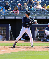 Taylor Kohlwey - San Diego Padres 2019 spring training (Bill Mitchell)