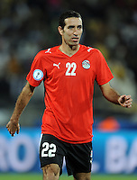 Mohamed Aboutrika of Egypt. USA defeated Egypt 3-0 during the FIFA Confederations Cup at Royal Bafokeng Stadium in Rustenberg, South Africa on June 21, 2009.