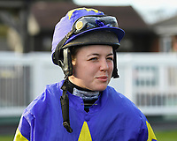 Jockey Page Fuller during Horse Racing at Plumpton Racecourse on 10th February 2020