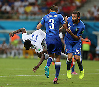 England's Danny Welbeck takes a Tumble