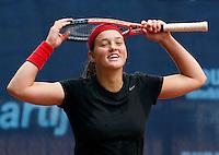 07-09-11, Tennis, Alphen aan den Rijn, Tean International, Angelique van der Meet wint de eerste ronde