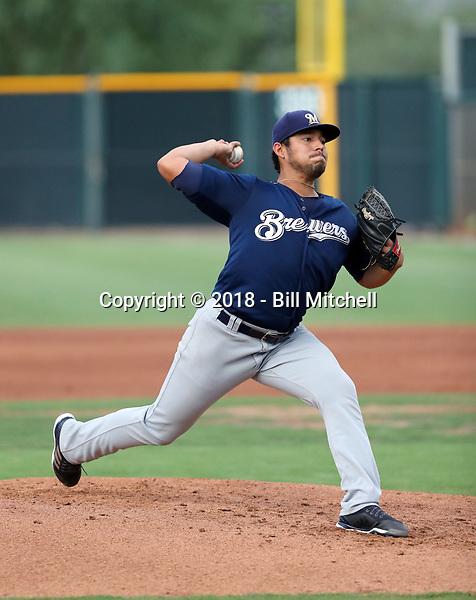 Jose Parra - 2018 AZL Brewers (Bill Mitchell)