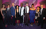 Julee Cerda, John McGinty, Anthony Edwards, Lauren Ridloff, Kenny Leon, Joshua Jackson, Kecia Lewis, Treshelle Edmond, Mark Medoff attend the Broadway Opening Night After Party for 'Children of a Lesser God' at Edison Ballroom on April 11, 2018 in New York City.