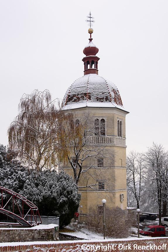 Glockenturm auf dem Schlossberg, Graz, Steiermark, Österreich<br /> Belltower on castle hill, Graz, Styria, Austria