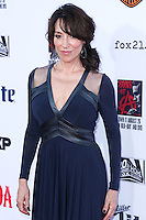 HOLLYWOOD, LOS ANGELES, CA, USA - SEPTEMBER 06: Actress Katey Sagal arrives at the Los Angeles Premiere Of FX's 'Sons Of Anarchy' Season 7 held at the TCL Chinese Theatre on September 6, 2014 in Hollywood, Los Angeles, California, United States. (Photo by Xavier Collin/Celebrity Monitor)