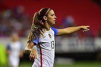 Atlanta, GA - Sunday Sept. 18, 2016: Alex Morgan prior to a international friendly match between United States (USA) and Netherlands (NED) at Georgia Dome.