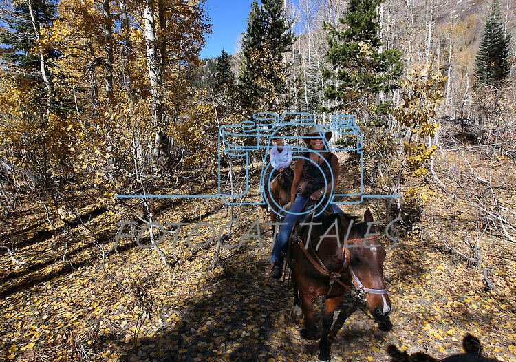 Images from a horseback ride from Big Meadow to Scotts Lake in Alpine County, Ca. on Wednesday, Nov. 7, 2012..Photo by Cathleen Allison