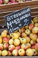Europe/Autriche/Niederösterreich/Vienne: Marché Naschmarkt - Pommes du pays