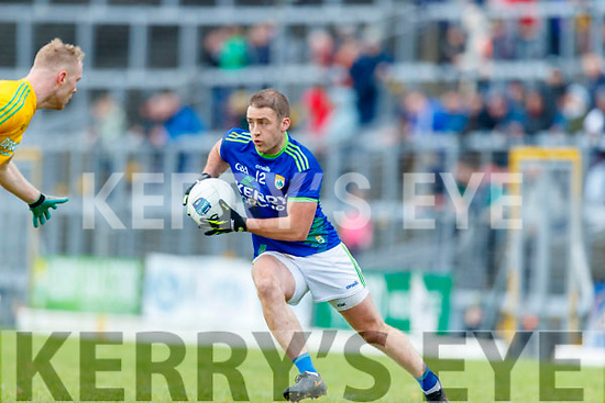 Stephen O'Brien, Kerry in action against Brian Conlon, Meath during the Allianz Football League Division 1 Round 4 match between Kerry and Meath at Fitzgerald Stadium in Killarney, on Sunday.