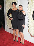 Kim Kardashian and Kris Jenner attends the QVC Red Carpet Style Event held at The Four Seasons at Los Angeles in Los Angeles, California on February 23,2012                                                                               © 2012 DVS / Hollywood Press Agency