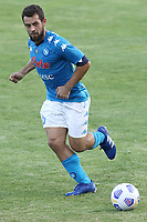 Amin Younes of SSC Napoli during the friendly football match between SSC Napoli and Castel di Sangro Cep 1953 at stadio Patini in Castel di Sangro, Italy, August 28, 2020. <br /> Photo Cesare Purini / Insidefoto