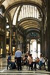 Italien, Piemont, Hauptstadt Turin: Einkaufsstrasse Via Roma - Galleria   Italy, Piedmont, capital Torino: Via Roma - Galleria