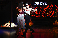 "Jonny Labey and Zizi Strallen<br /> appear in ""Strictly Ballroom the musical"" at the Piccadilly Theatre, London<br /> <br /> ©Ash Knotek  D3396  17/04/2018"