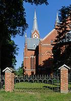 Dreifaltigkeitskirche (Trejybes baznycia) in Jurbarkas, Litauen, Europa