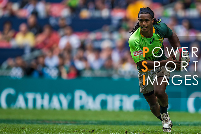 England vs South Africa on Cup Quarter Final during the Cathay Pacific / HSBC Hong Kong Sevens at the Hong Kong Stadium on 30 March 2014 in Hong Kong, China. Photo by Xaume Olleros / Power Sport Images