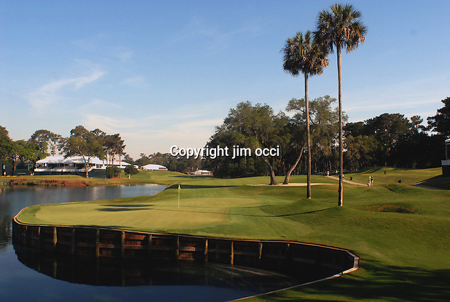 Practice rounds at the player championship at TPC sawgrass May 5 through May 7, 2008.