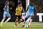 Borussia Dortmund midfielder Shinji Kagawa (l) during the match between Manchester City FC at the 2016 International Champions Cup China match at the Shenzhen Stadium on 28 July 2016 in Shenzhen, China. Photo by Victor Fraile / Power Sport Images