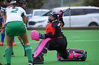 Auckland Blue v Manawatu. 2021 National Women's Under-18 Hockey Tournament day five at National Hockey Stadium in Wellington, New Zealand on Thursday, 15 July 2021. Photo: Dave Lintott / lintottphoto.co.nz https://bwmedia.photoshelter.com/gallery-collection/Under-18-Hockey-Nationals-2021/C0000T49v1kln8qk