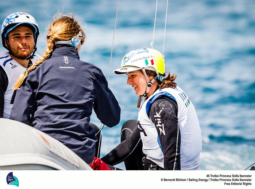 From the 30th of March to the 7th of April the bay of Palma in Mallorca (Spain) hosts the 49th Trofeo Princesa Sofia Iberostar, one of the most important Olympic sailing regatta in the world. Around 1,200 sailors from 64 nations take part in the event this year, in the largest edition in history. Image free of rights for editorial use. © Bernardí Bibiloni / Trofeo Princesa Sofía Iberostar