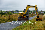The on going works on the Fenit to Tralee Greenway