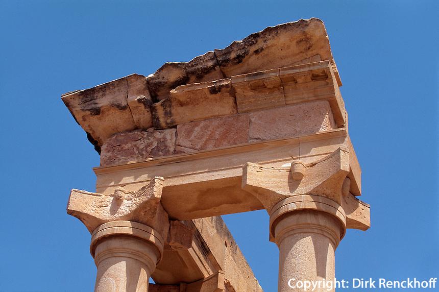 Zypern (Süd), Tempel des Apollo Hylates in Kourion