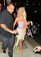 Doja Cat Spotted At Tao In Hollywood
