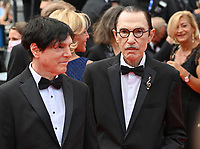 CANNES, FRANCE. July 12, 2021: Russell Mael & Ron Mael at the gala premiere of Wes Anderson's The French Despatch at the 74th Festival de Cannes.<br /> Picture: Paul Smith / Featureflash