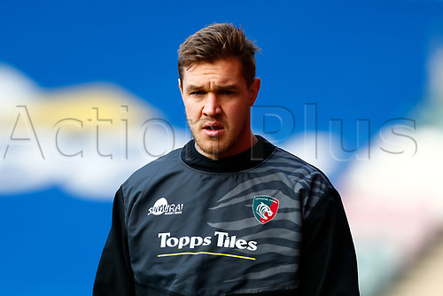 3rd January 2021; Welford Road Stadium, Leicester, Midlands, England; Premiership Rugby, Leicester Tigers versus Bath Rugby; Calum Green of Leicester Tigers pictured during the pre-match warm-up