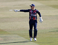 Sam Billings of Kent directs his troops during Kent Spitfires vs Essex Eagles, Vitality Blast T20 Cricket at The Spitfire Ground on 18th September 2020