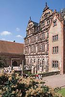 Europe/Allemagne/Bade-Würrtemberg/Heidelberg: le Château -la cour