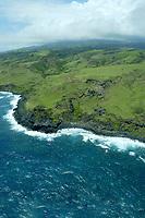 The north coast of Molokai, Hawaii