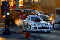 Jan 21, 2007; Las Vegas, NV, USA; NHRA Funny Car driver John Force during preseason testing at The Strip at Las Vegas Motor Speedway in Las Vegas, NV. Mandatory Credit: Mark J. Rebilas