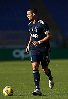 Football, Serie A: S.S. Lazio - Juventus Olympic stadium, Rome, November 8, 2020. <br /> Juventus' Cristiano Ronaldo in action during the Italian Serie A football match between Lazio and Juventus at Olympic stadium in Rome, on November 8, 2020.<br /> UPDATE IMAGES PRESS/Isabella Bonotto